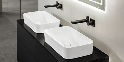 Villeroy & Boch Finion Built-On Washbasin at xTWOstore